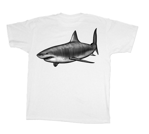 Land Shark® Great White Shark Short Sleeve Shirt