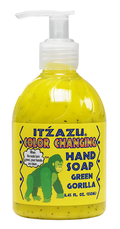 Itzazu Color changing hand soap for kids. Teaching soap. Teach Hand Washing. Teach kids about Hygiene. Hand Soap. Kids Hand Soap. Fun Hand Soap.