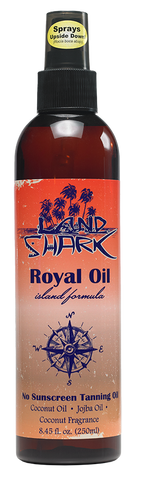 Land Shark® Royal Oil Island Formula No Sunscreen Tanning Blend 8.45oz