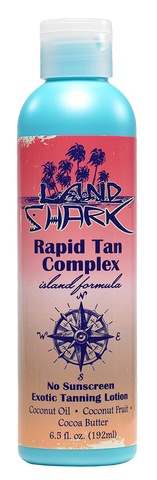 Land Shark® Island Formula Rapid Tan Complex Exotic Tanning Lotion 6.5oz