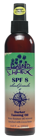 Land Shark® Island Formula Darker Tanning Oil SPF 8 8.45oz