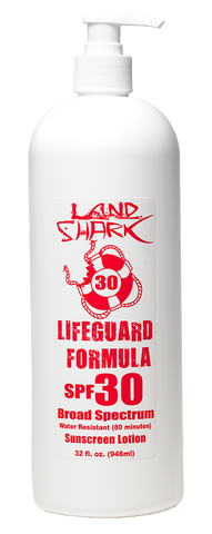Land Shark® SPF 30 Broad Spectrum Sunscreen Lotion 32oz