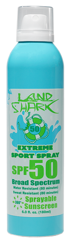 Land Shark® Broad Spectrum Continuous Spray SPF 50 Extreme Sport Sprayable Sunscreen 6oz