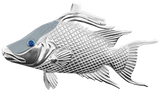 Tropical Seas® Jewelry Collection Sterling Silver Hogfish Pendant