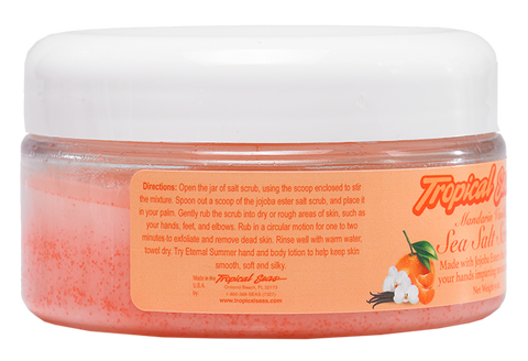 Tropical Seas® Mandarin Vanilla Sea Salt Scrub 9oz