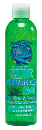 "Tropical Seas® Re-Nourishing Aloe Solar Repair Gel with Aloe Vera ""L"" 8oz"