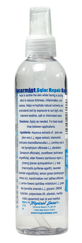Tropical Seas® Rehydrating Spearmint Solar Repair Spray with Spearmint Oil, Menthol, and Allantoin 8.45oz