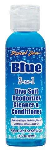 Tropical Seas® Blue 3-N-1 Dive Suit Deodorizer Cleaner & Conditioner 2oz