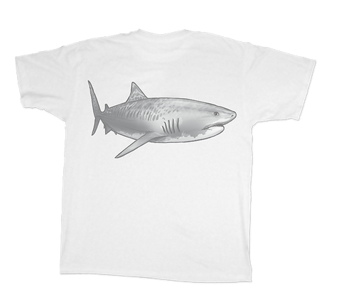Land Shark® Tiger Shark Short Sleeve Shirt