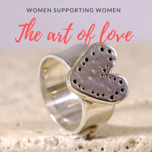 Sterling Silver Heart ring - The Art Of Love R2340S