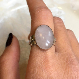 14K Gold Fill Wire Wrap Minimalist Boho Wire Wrapped Clear Quartz Statement Ring Cocktail Ring Minimal Gift Simple