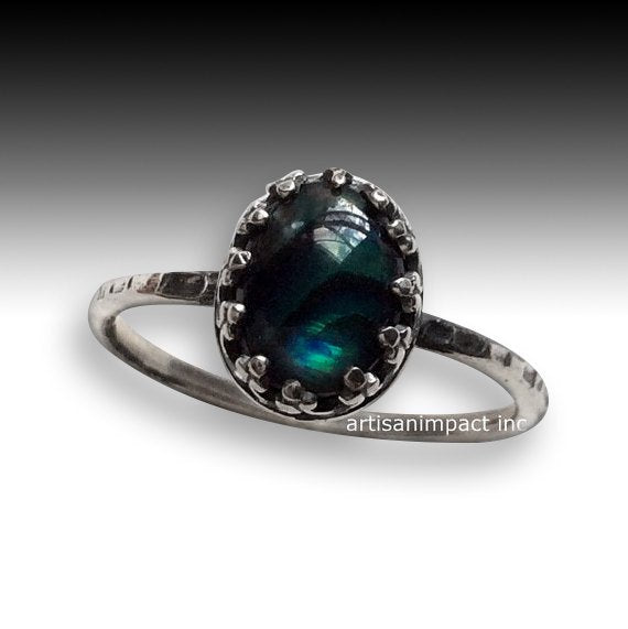 Blue shell ring