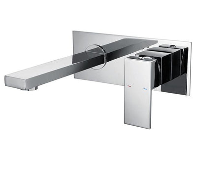 Beveld - Bathroom Concealed Wall Mounted Faucet