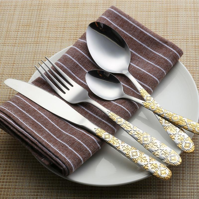 Beveld - Gold Classic Cutlery Set