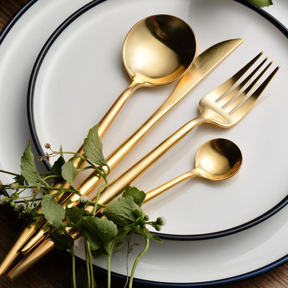 Beveld - Gold Stylish Kitchen Cutlery Set