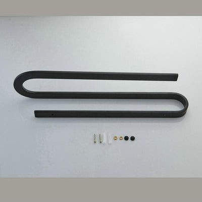 Beveld - S Type Black Towel Rack