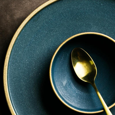Beveld - Ceramic Gold Edge Plate