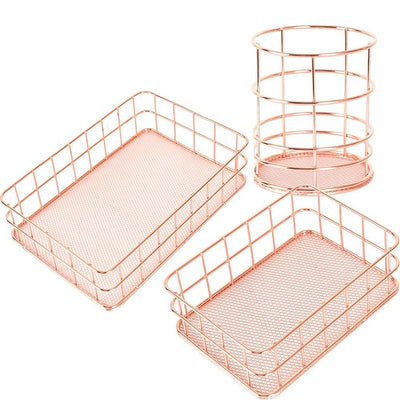 Beveld - Copper Storage Basket