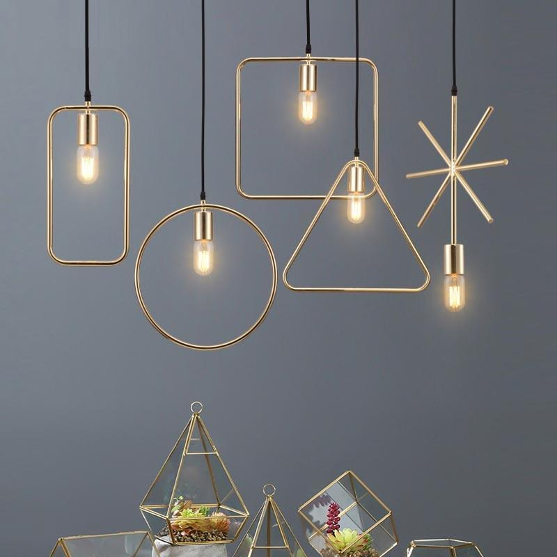 Beveld - Creative Personality Single Head Pendant Lights