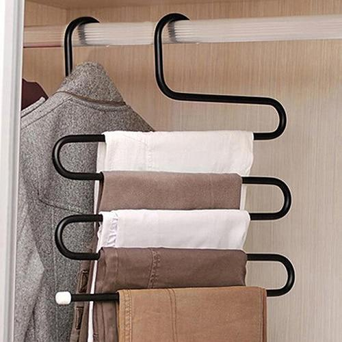 Creative S Shape Pants Hanger