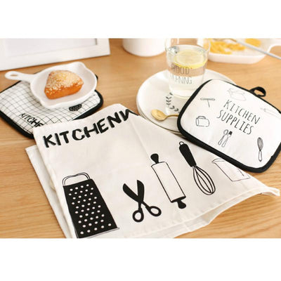 Beveld - Minimalist Kitchen Placemat & Heating Glove