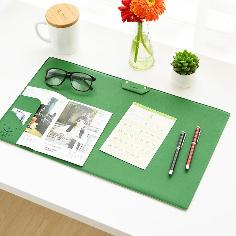 Multifunctional Modern Office Desk Mat blue