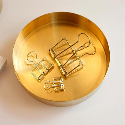 Nordic Gold Storage Tray 1