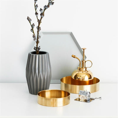 Nordic Gold Storage Tray 10cm