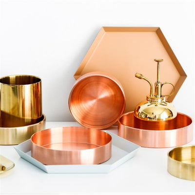 Nordic Copper Storage Tray