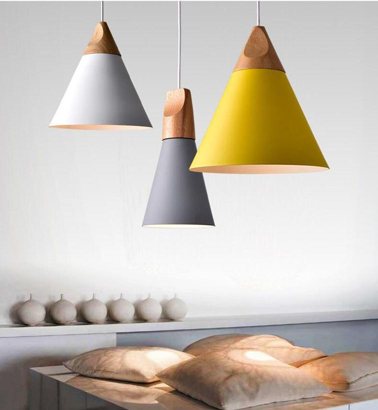 Scandinavian Wooden Pendant Lights