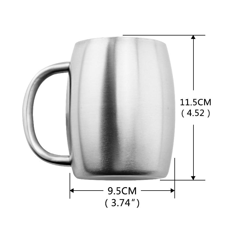Beveld - Double Wall Stainless Steel Mug