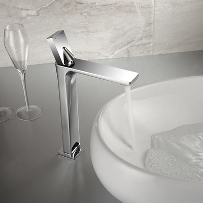 Royal Guard Style Tall Faucet single handed chrome