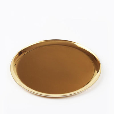 Scandinavian Metal Gold Style Tray