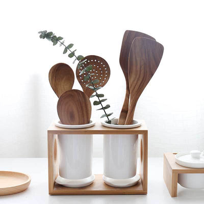 Beveld - Big Wooden Tableware Spoon