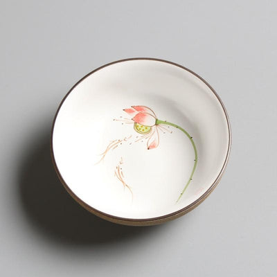 Beveld - Ceramic chinese teacups set