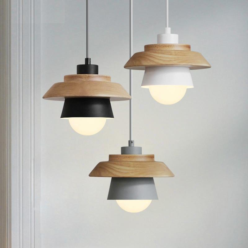 Beveld - Metallic Wood LED Chandelier