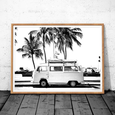 Beveld - Retro Camper Wall Canvas