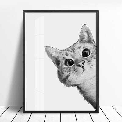 Beveld - Lovely Cat Wall Canvas