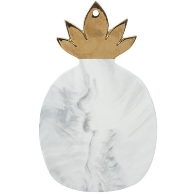 Beveld - Gold plated Marble Pineapple Board