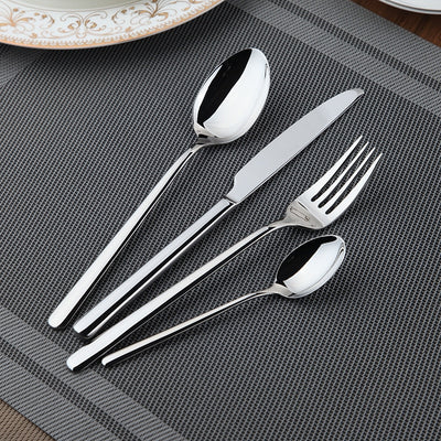Beveld - Stainless Steel Western Tableware Dinner Set