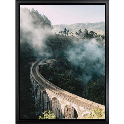 Beveld - Cow Mountain Scenery Wall Art Canvas