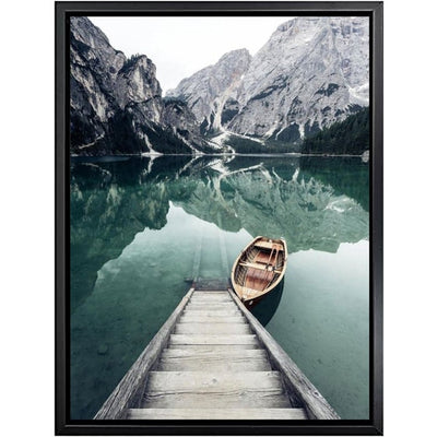Beveld - Scandinavian Boat Lake Canvas