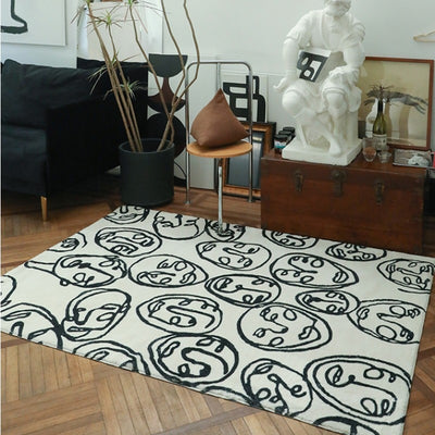 Beveld - Modern pattern art living room rug