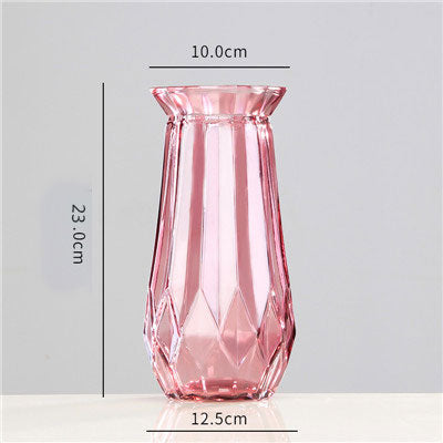 Beveld - Nordic Colored Transparent Glass Vase
