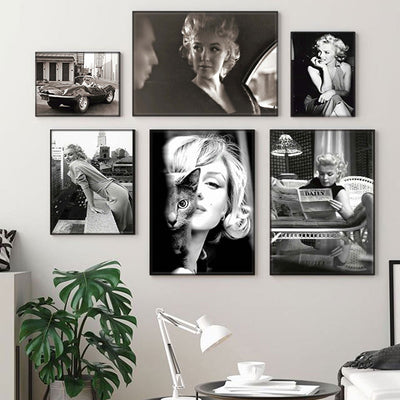 Beveld - Movie Star Poster and Print Wall Art Canvas