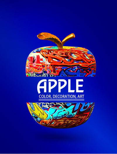 Beveld - Painting Graffiti Apple Art