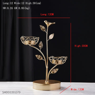 Beveld - Golden Leaves Decoration Living Room art