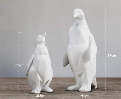 Beveld - Penguin Sculpture Unique Animal Shape Doll Gift