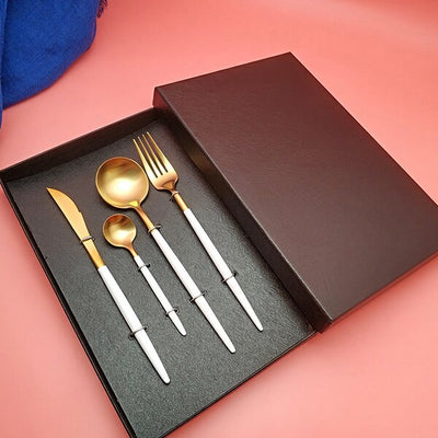 Beveld - Stainless steel Knife Fork Spoon Set