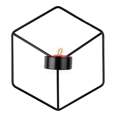 Beveld - Minimalist Metal Wall Candle Holder